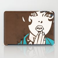 60s iPad Cases featuring 60s Girl by Ed Pires