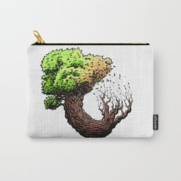 Tree Cycle Carry-All Pouch