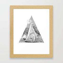 The Fresno Nightcrawler Framed Art Print