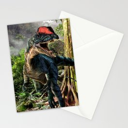 The world of dinosaurs Stationery Cards