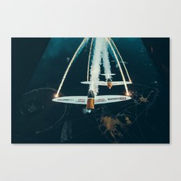Twister Duo Canvas Print