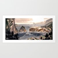 From Here I Can See Art Print