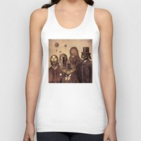 victorian Tank Tops featuring Victorian Wars  - square format by Terry Fan