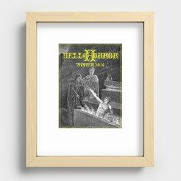 HelloHorror Issue 17 - Dante's Inferno Recessed Framed Print