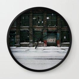 Architectual Metals Wall Clock