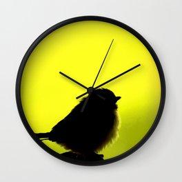 Baby Bird In Early Summer #decor #society6 Wall Clock