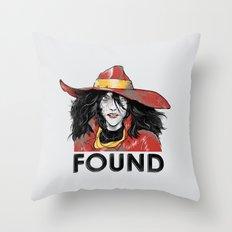 Found Throw Pillow