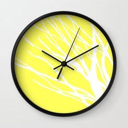 Lemon Blues Wall Clock