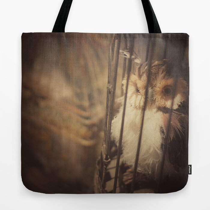 Caged Bird Tote Bag