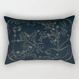 Winter Constellations Rectangular Pillow