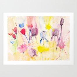 Wildblumen / Wild flowers Art Print