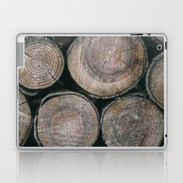 Log Ends Laptop & iPad Skin