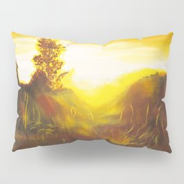 Dancing Sunset Pillow Sham