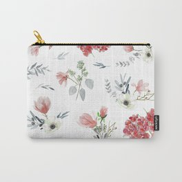 Autumn Floral Pattern Carry-All Pouch