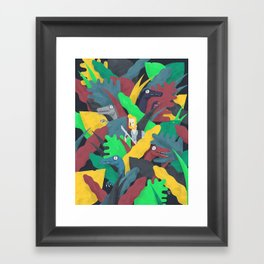 JW Framed Art Print