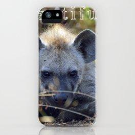 Beautiful Hyena iPhone Case