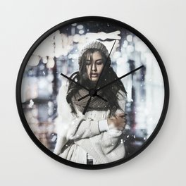 It's so cold outside Wall Clock