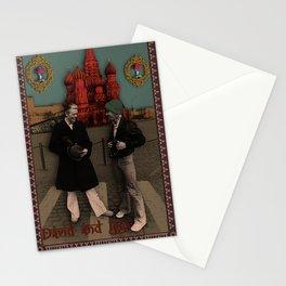 David and Iggy Stationery Cards