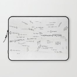 Mathspace - High Math Inspiration - Inverted Color Laptop Sleeve