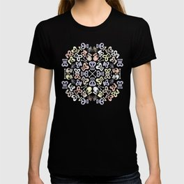 Scary skulls having fun celebrating the Day of the Dead T-shirt