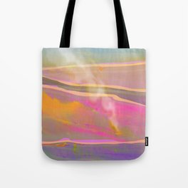 Adventure in the Volcanic Lands - Fumarole Tote Bag