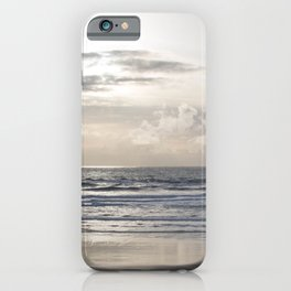 Silver Scene iPhone Case
