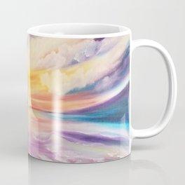 Be a Rainbow, Colorful Sunset, Beach Sunset, Beautiful Sunset Coffee Mug