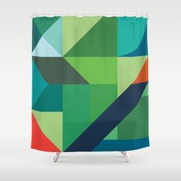 Minimal/Maximal 2 Shower Curtain