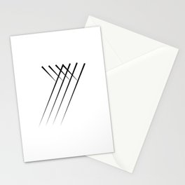 """"""" Eclipse Collection"""" - Minimal Letter Y Print Stationery Cards"""