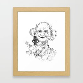 BFG Framed Art Print