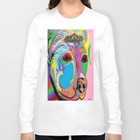 rottweiler Long Sleeve T-shirts featuring Lady Rottweiler by EloiseArt