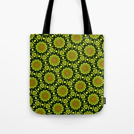 Cute ethnic floral pattern Tote Bag