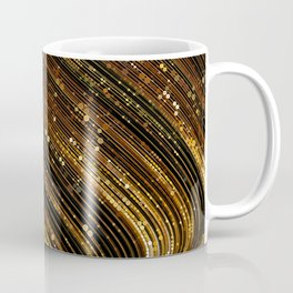 rox - abstract design rich brown rust copper tones Coffee Mug