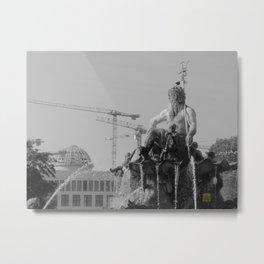 Berlin History Metal Print