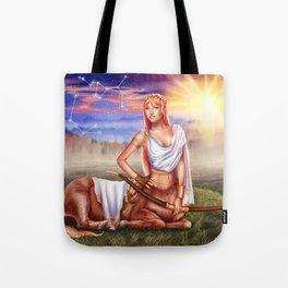 Sagittarius OC - 12 Zodiac Ladies Tote Bag