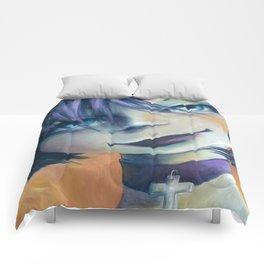 Z imagination Goth Girl Comforters