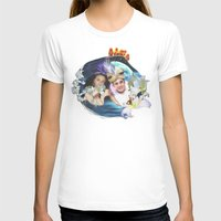 aladdin T-shirts featuring Aladdin & Jasmine by FarbCafé