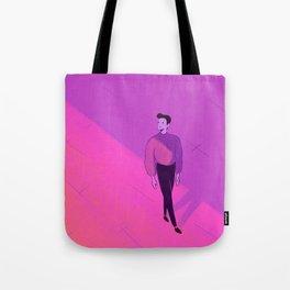 walking man Tote Bag