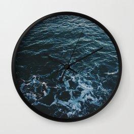 Dark #Sea Wall Clock