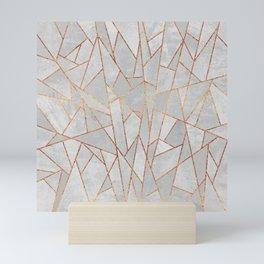 Shattered Concrete Mini Art Print