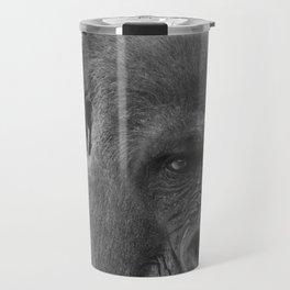 Gorilla Head Shot Travel Mug