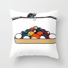 Pool Playa Throw Pillow