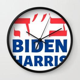 Jews For Joe Biden & Kamala Harris 2020 Wall Clock