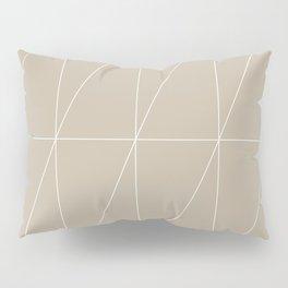 Neutral Triangles by Friztin Pillow Sham