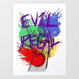 Evil Regal3 Art Print