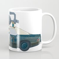 blues brothers Mugs featuring The Blues Brothers Bluesmobile 3/3 by Staermose