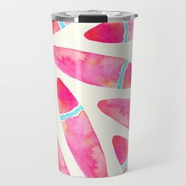 Pink Surf Travel Mug