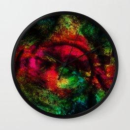 Texture Colors (N8) Wall Clock