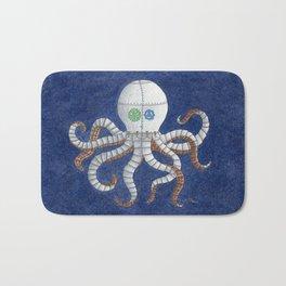 Octopus Steampunk Art Bath Mat