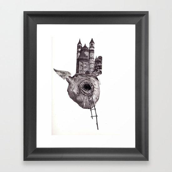 The Heart of The City Framed Art Print